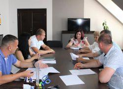 Робоча нарада з питань проведення організаційних заходів для подальшої передачі рухомого та нерухомого майна комунальних некомерційних підприємств