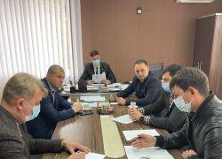 Нарада по обговоренню питань будівництва, розвитку та утримання мережі автомобільних доріг в Ужгородському районі